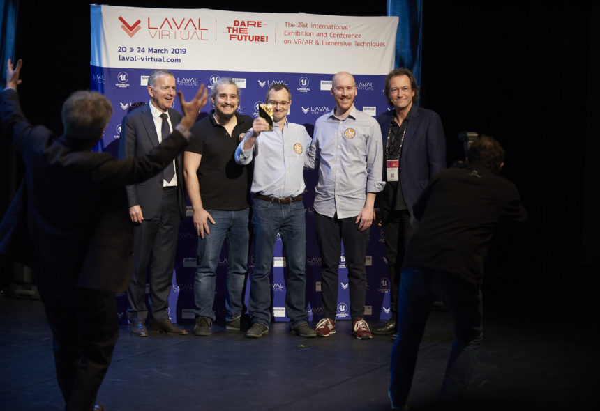 gagnant grand prix Laval Virtual Awards 2019