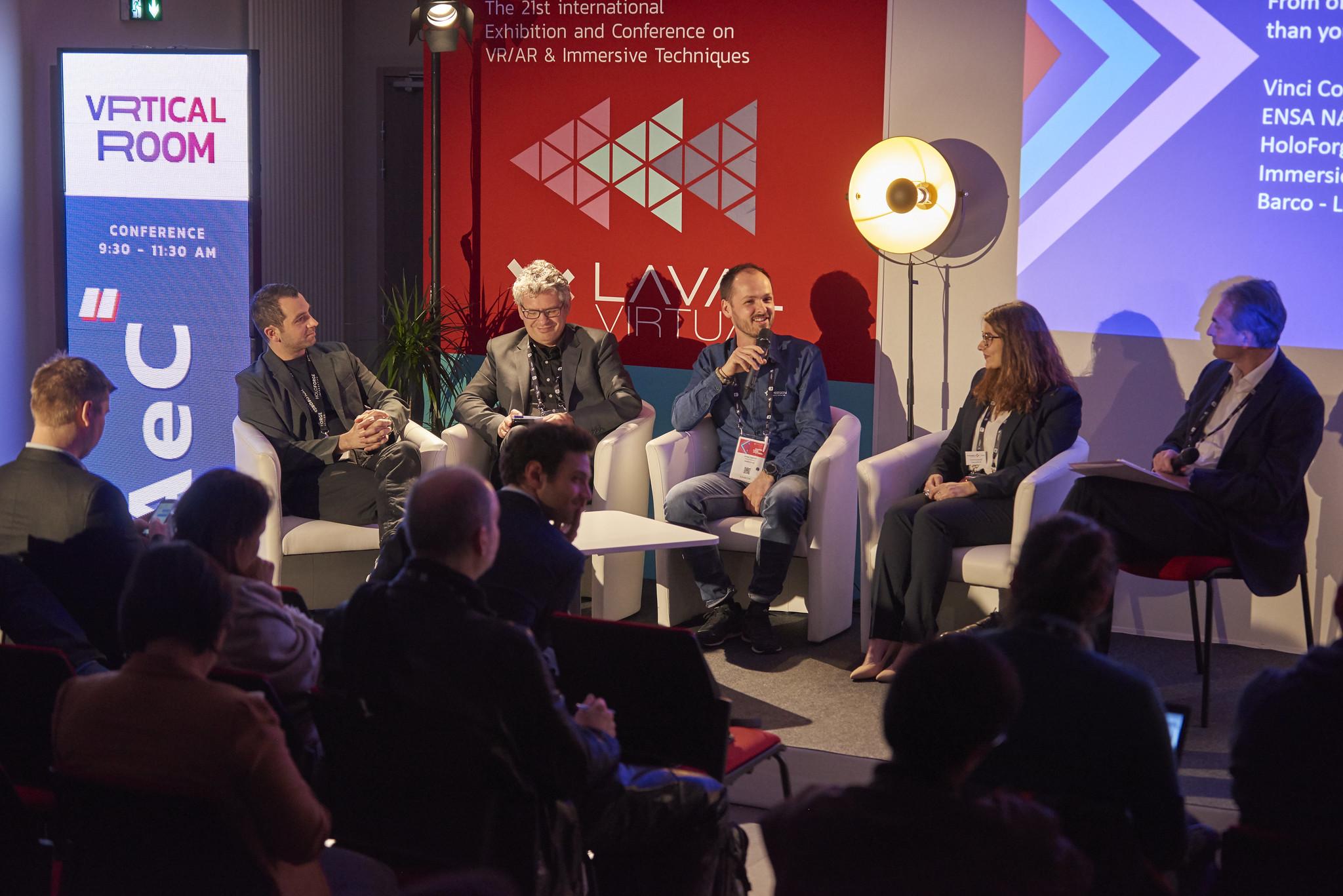 Les conférences de Laval Virtual