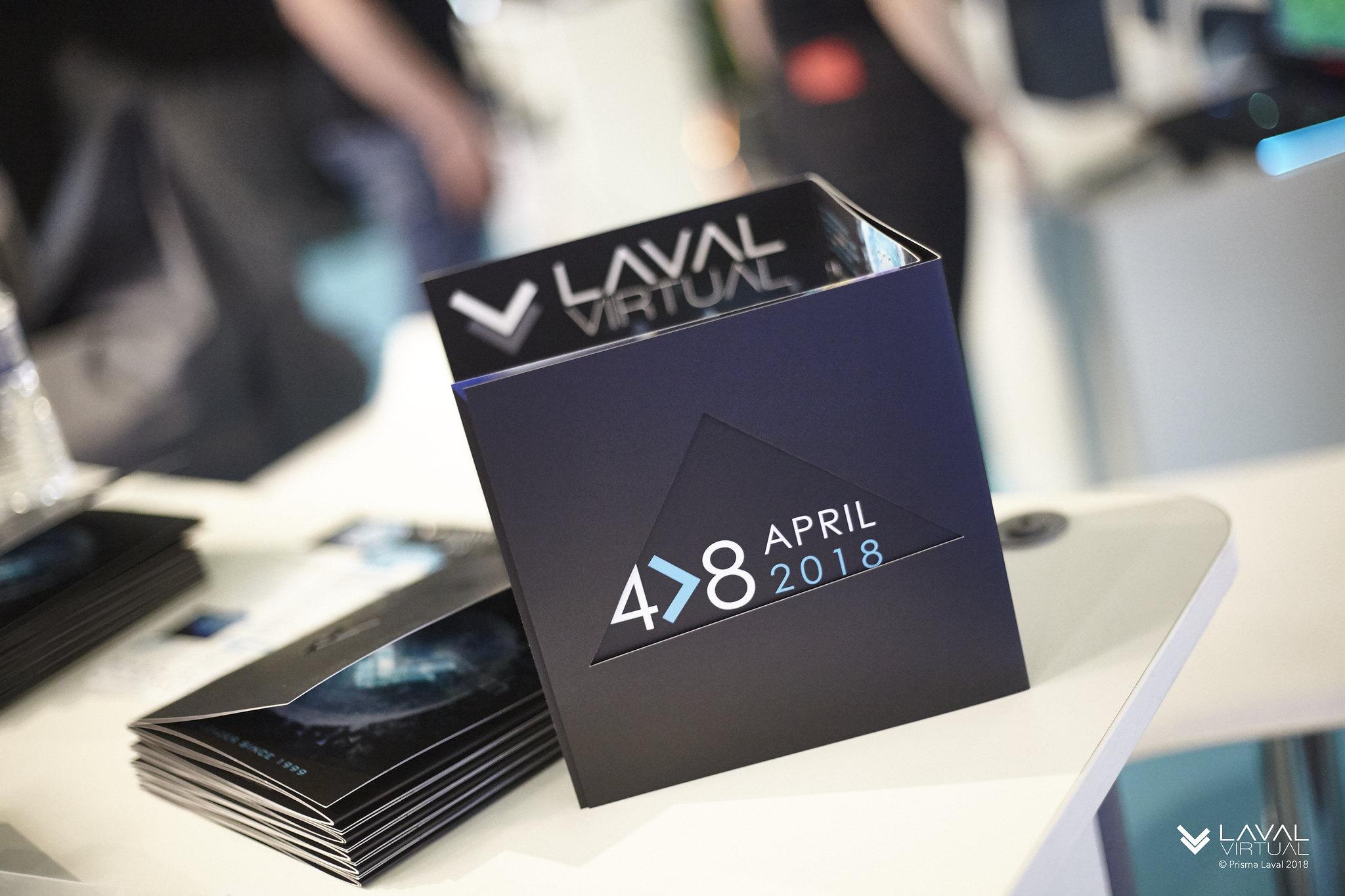 Rétrospective de l'histoire de Laval Virtual de 1999 à 2018