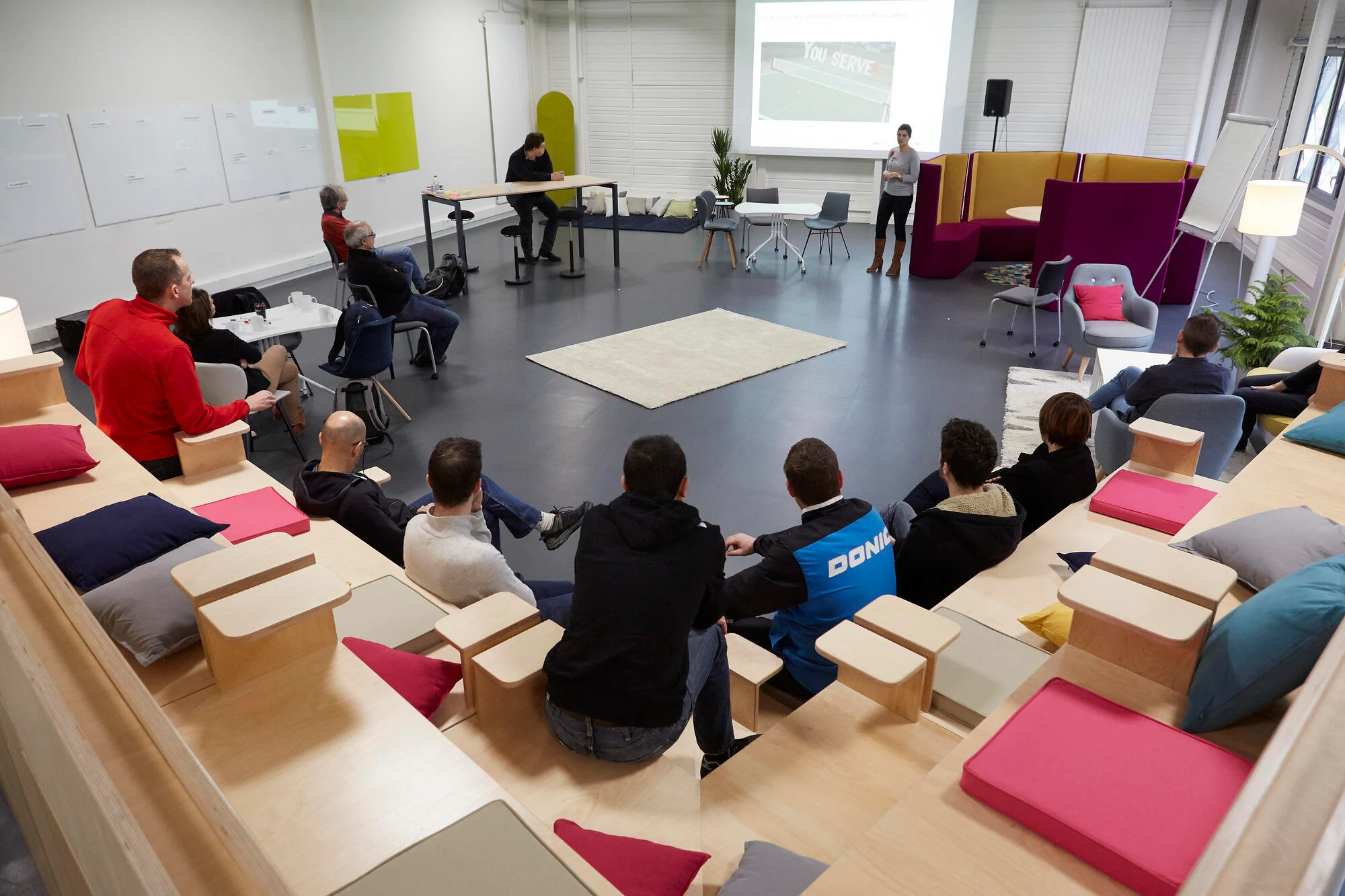 Le Creative Space du Laval Virtual Center - Location de salles