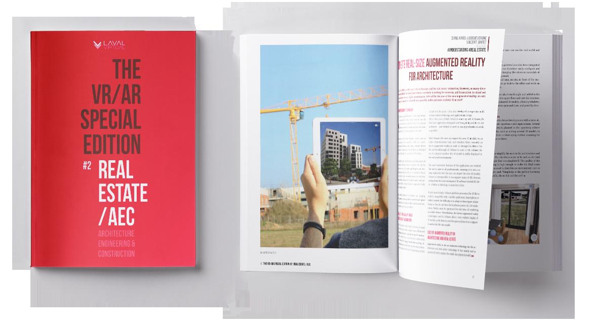 Magazine VR/AR de Laval Virtual sur l'architecture et l'immobilier