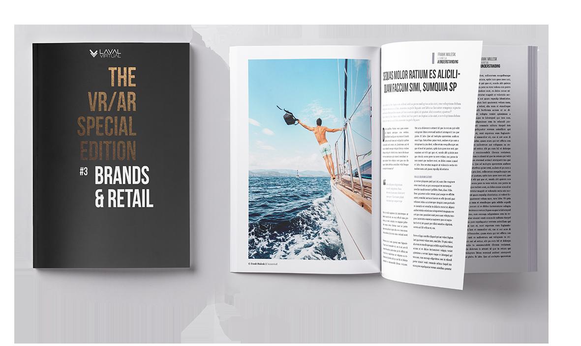 Magazine VR/AR de Laval Virtual pour le retail, la vente et les marques