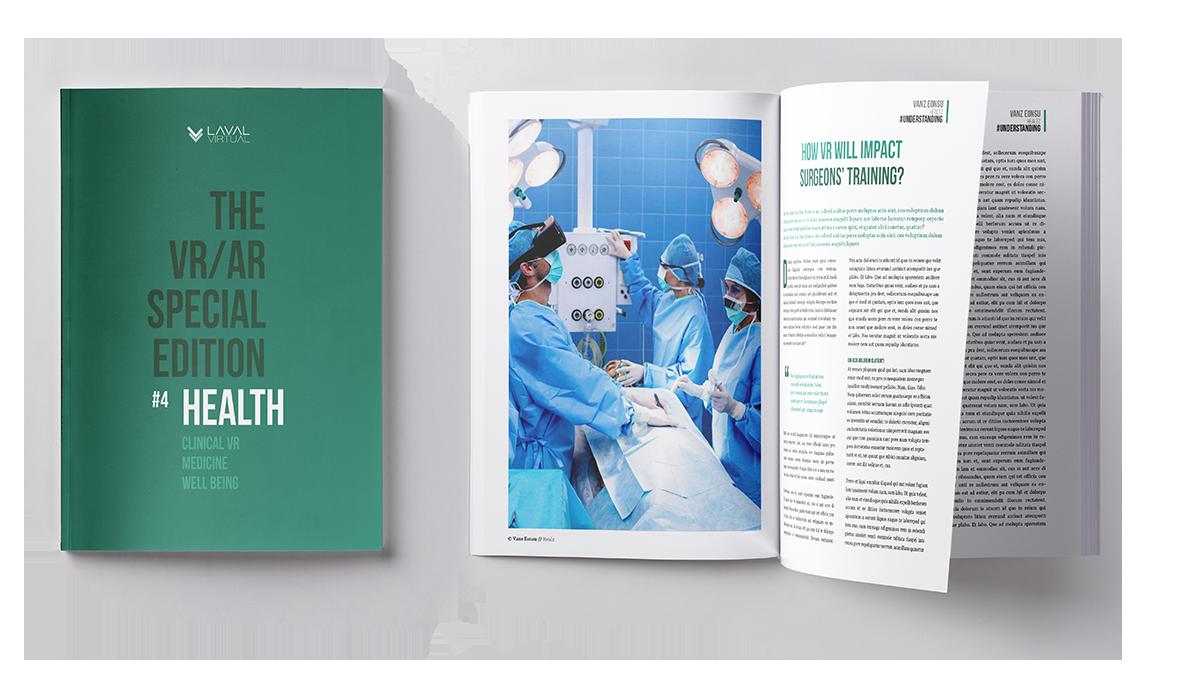 Magazine VR/AR de Laval Virtual sur la santé